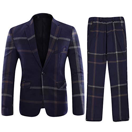 Loxdonz Women's ¾ Sleeves Stripes Print Open Front Waterfall Crop Blazer Jacket Coat (XX-Large/US (16-18), Black/White)