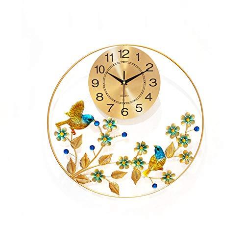 YZJL Moderne Mute Wanduhr Kreative Dekorativen Uhr Wohnzimmer Schlafzimmer Quarzuhr