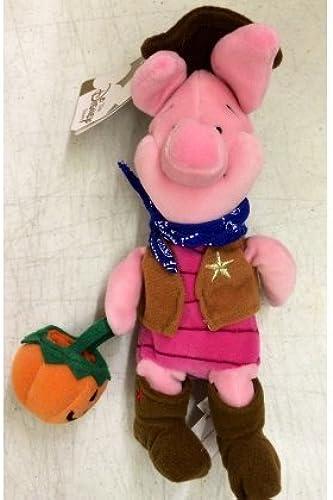 Disney Store Mini Bean Bag Winnie The Pooh Cowboy Piglet 8 Plush Doll by Disney