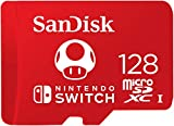 SanDisk 128GB microSDXC Card, Licensed for Nintendo Switch - SDSQXAO-128G-GNCZN