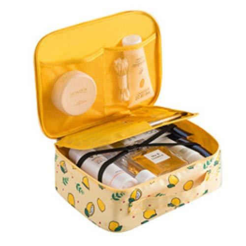 Sac cosmétique sac cosmétique imperméable à l'eau femme portable simple grande capacité sac à cosmétiques boîte fille coeur laver cosmétiques boîte de rangement 24 * 18 * 9CM A3
