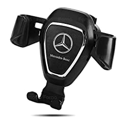 EASY USE: Car Phone Mount with Creative gravity linkage principle, automatic locking & release .Simply pop your phone in and out of the car phone mount by one hand. STURDY AND WELL PROTECTIVE:Car Mount use Elastic & Slip-proof Clip hold the Air Vent ...