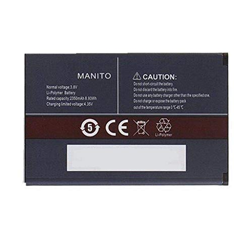 Backupower Bater¨ªa para CUBOT Manito Handy Smartphone Telefon 3.8V 2350mAh