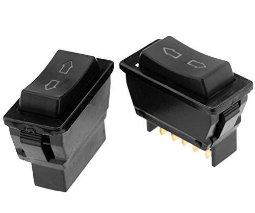 Create Idea 1paar 12V LED 5PIN Auto Fensterheber Taster Schalter