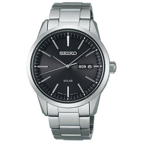 [セイコーウォッチ] 腕時計 スピリット スピリットスマート ソーラー サファイアガラス 耐磁時計 らくらくアジャストバンド SBPX063