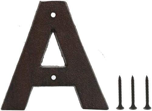 Cast Iron Recommended 5 Inch Door House Letters Brow Selling and selling A Numbers Mailbox
