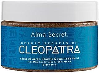 Alma Secret CLEOPATRA Exfoliante Corporal con Leche de Arroz, Sándalo & Vainilla de Tahití -