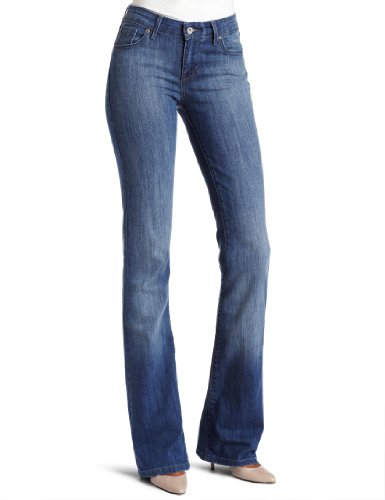 Levi's Misses Classic Demi Curve ID Boot Cut Jean, Historic Blue, 48x30