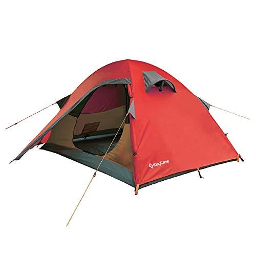 KingCamp Tienda de campaña Carpa de cúpula de Doble Pared emergente al Aire Libre Protección contra Mosquitos Festival de Viaje de Campamento Impermeable 210cm*150cm*110cm
