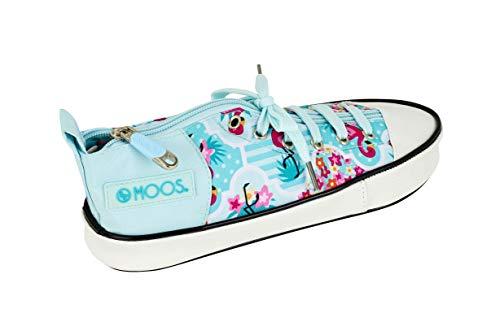 Moos - Astuccio per scarpe'Flamingo Turquoise'