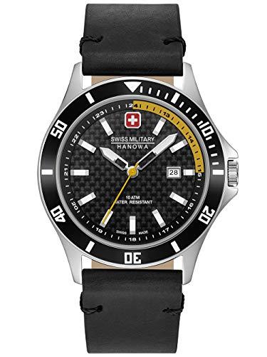 Swiss Military Hanowa Reloj Analógico para Unisex Adultos de Cuarzo con Correa en Acero Inoxidable 06-4161.2.04.007.20