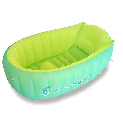 YIWANGO Aufblasbare Babywanne Babywanne Neugeborene Kinderisolierung Kann Sitzen Liegen Große Dicke Kind Eimer[1-8 Jahre Alt],[S]