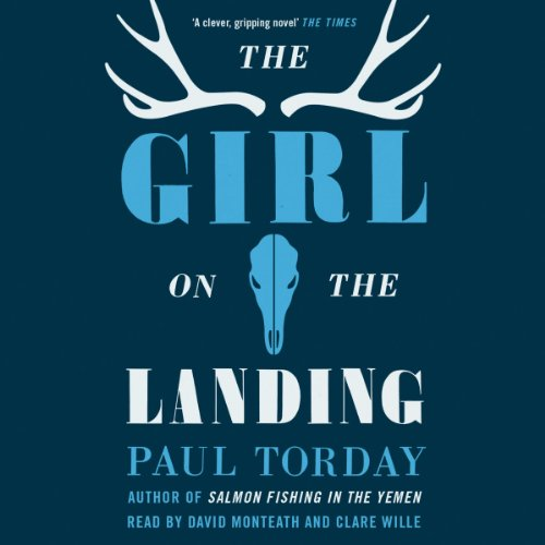 The Girl on the Landing audiobook cover art