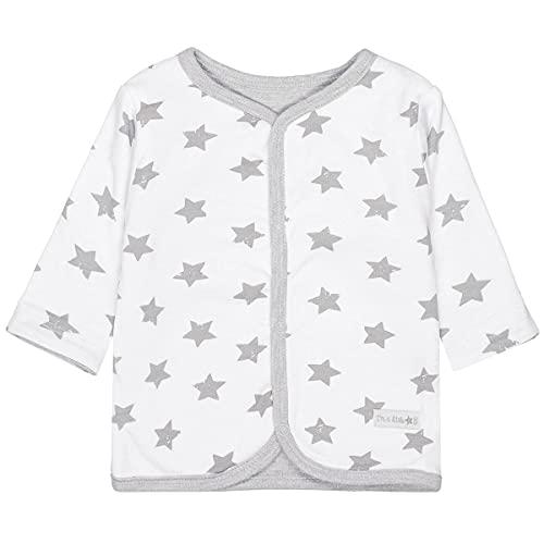 Unisex Baby Wendejacke | Organic Cotton Bio-Baumwolle | Grey Star Größe 68 | Basic Erstausstattung
