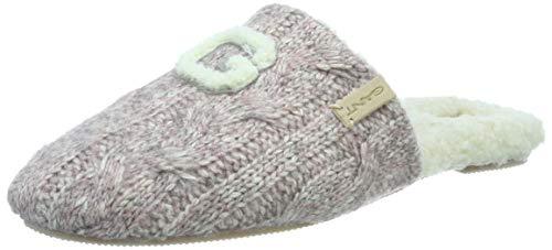 GANT Footwear Damen Lazy Pantoffeln, Pink (Pink Melange G588), 38 EU