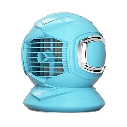 LEEDY Mini Klimaanlagenlüfter, Tragbarer Luftbefeuchter mit Mehreren Geschwindigkeiten Runder Luftkühlerlüfter,Mobile klimageräte,Air Cooler