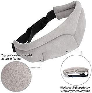 Sleep Mask - Blindfold Facial Sleeping Eye mask for Travel Rest Sleeping aid eyeshade Women Men Cover Eye Patch Block Out Light Eyepatch