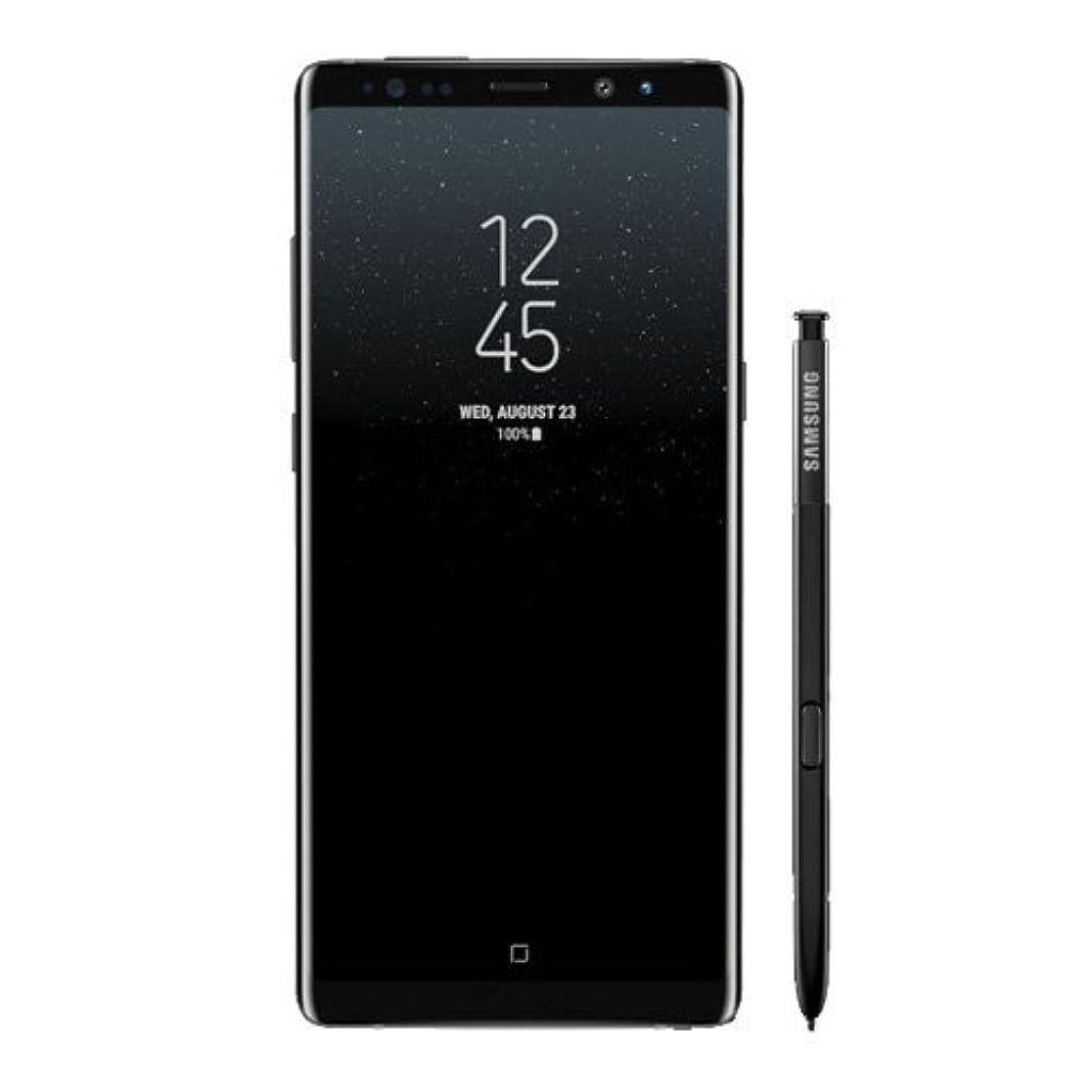 ハッピーハッピー持参SAMSUNG Galaxy Note 8 / 256GB / SM-N950N / Single SIM / 6.3インチ / スマートフォン / SIMフリー [並行輸入品] (Black)