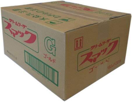 三重県桑名のローカル飲料  鈴木鉱泉 スマック ゴールド クリームソーダ 180ml 1ケース(30本)