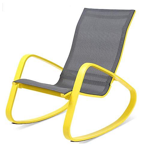 QQXX schommelstoel, Amerikaanse volwassene schommelstoel Recliner-luier vrijetijdsbalkon schommelstoel lunchpauze-stoel (afmetingen: 61,58485 cm) 61,5 x 84 x 85 cm e2 E2