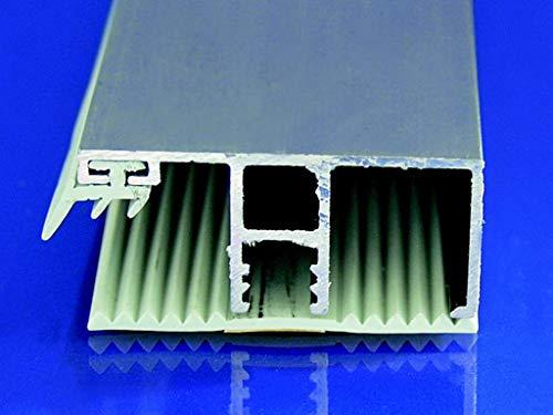 Stegplatte Randprofil Profile für 16mm Stegplatten Alu/Gummi 3 Meter