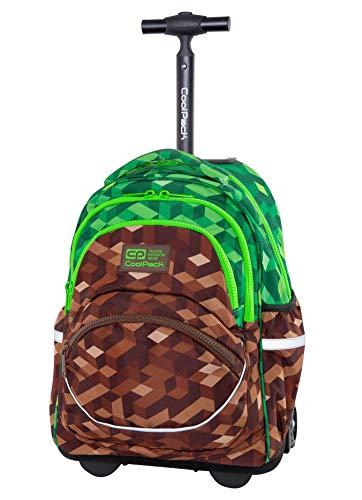 COOLPACK Trolley Rucksack Handgepäck Rollkoffer Koffer Backpack 27 L Pixels