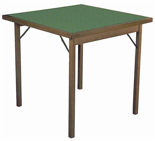 Tavoloverde 1 Spieltisch, klappbar, Walnuss lackiert, Keine