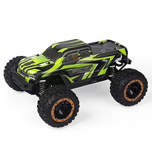 Nsddm 1/16 Scale RC Car, camión de Escalada de Alta Velocidad de 30km / h, vehículo Todoterreno 4WD, automóvil de Control de Radio de 2.4GHz con Faros, Regalos de Juguetes para Adultos y niños, (7.4V