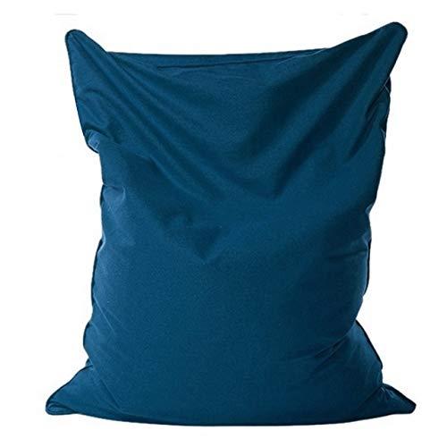 140x110cm fauler Sitzsack Sofas Stoff Lounger Stuhl-Sofa-Abdeckung Stühle Puff Puff Couch Tatami Wohnzimmer Möbel abwaschbar (Color : C)