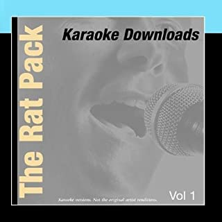 Karaoke Downloads - The Rat Pack Vol.1 by Karaoke - Ameritz (2011-03-04)