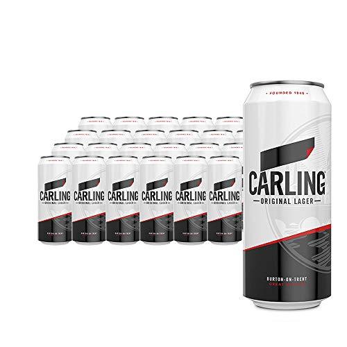 CARLING Lager. 4% Vol. - Bandeja con 24 latas de 500 ml
