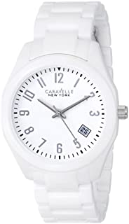 Caravelle New York by Bulova Women's 45M107 Ceramic Watch