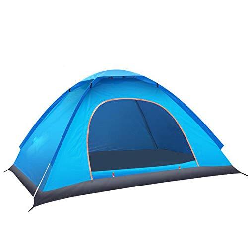 MINGZE Tienda de Campaña Familiar para 1-2 Personas, Tamaño Grande, para 2 Personas, Impermeable, Ventilada y Duradera, Portable Pop Up Privacy Shelter Beach Park Dressing Changing Tent