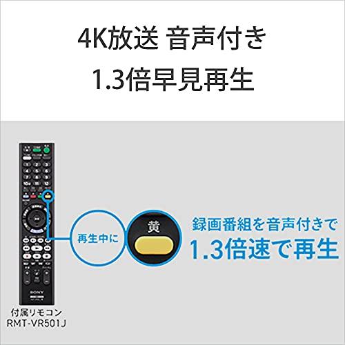 ソニー2TB3チューナー4KブルーレイレコーダーBDZ-FBT21004K放送長時間録画/W録画対応(2021年モデル)