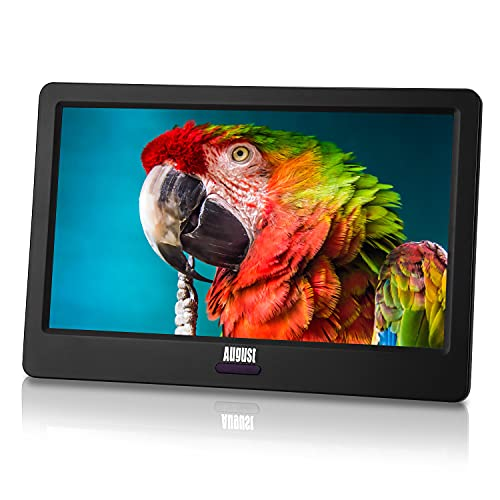 August HD Portable Freeview TV – August DA900D – Small Screen LCD Digital Analogue Television...