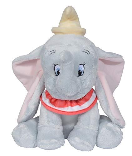 Otto - Peluche de elefante gris Dumbo (25 cm)