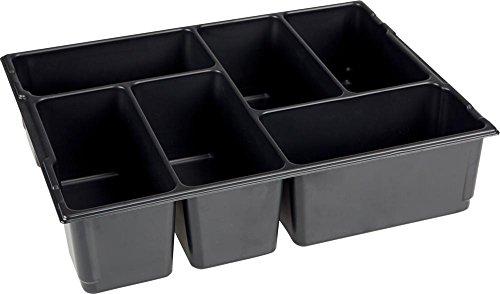 Sortimo L-BOXX Kleinteileeinsatz für 136 6 Mulden