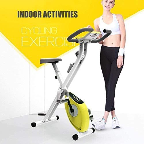 Indoor Spin Bike Indoor Hometrainer Verstelbare Weerstand Zit Stationaire Fiets Comfortabel Zitkussen Tablet Houder Spin Bike voor Thuis Cardio Workout dsfhsfd(Upgrade)