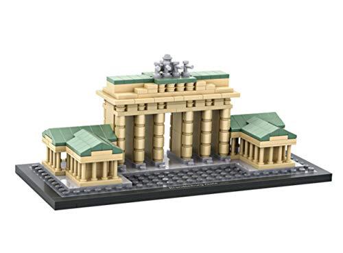 Modelo De La Puerta De Brandenburgo, Estereoscópica En 3D Bloques del Rompecabezas Ensambla La Construcción De Regalo Conmemorativo De Recogida De Juguetes Educativos para Niños