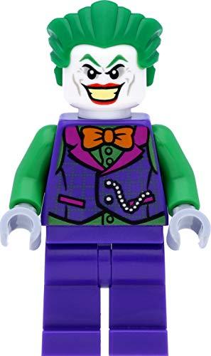 LEGO Super Heroes / Batman Minifigur: Joker mit oranger Fliege und grünen Armen