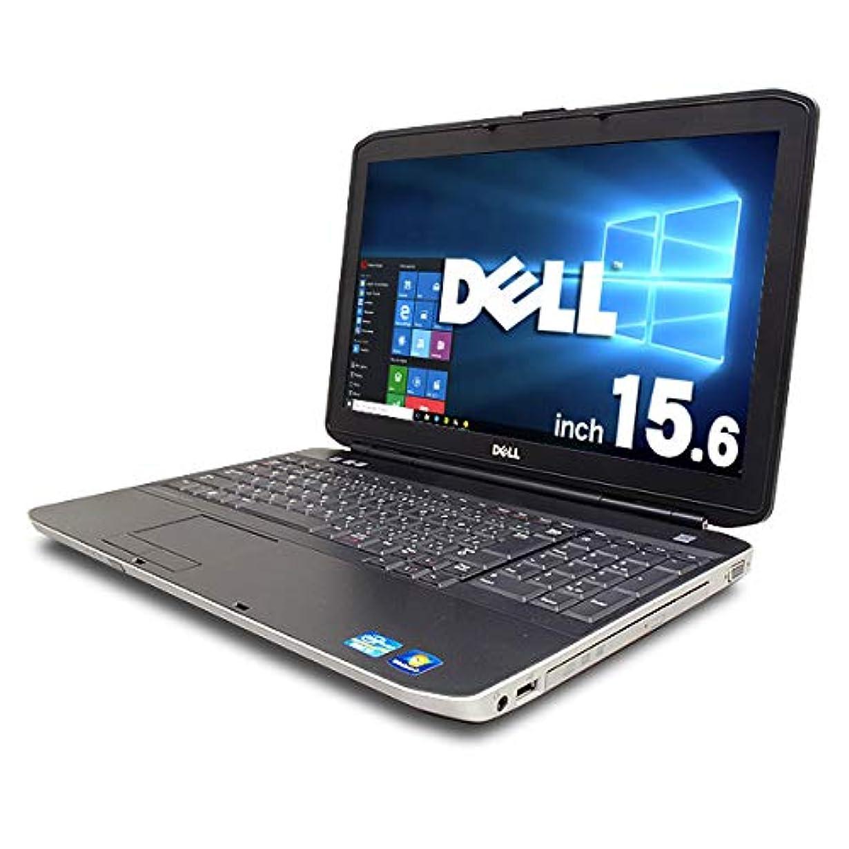 みすぼらしいもっとシソーラスノートパソコン 中古 DELL Latitude E5530 Core i3 4GBメモリ 15.6インチ Windows10 MicrosoftOffice2007