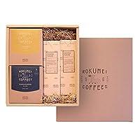 ロクメイコーヒー コーヒーと和スイーツギフト ドリップパック & コーヒー羊かん - バレンタインシール