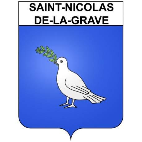 Bearn Saint Nicolas-de-la-Grave 82 ciudad - Adhesivo adhesivo