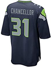 JERWY Mannen 's_Women's_Youth_Kam_Chancellor_College_#31_Navy_Game_Sportswears_Football_Tracksuits_Jersey