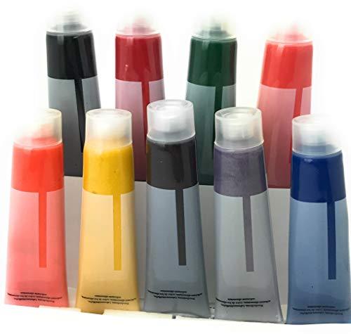 colorantes alimentarios líquidos en set de 9 unidades