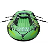 BOATb 22011533Cm, Inflatable Kayaking, Inflatable Dinghy, Inflatable Boat Set, Air Boat Fishing with Pump + Plastic Paddle