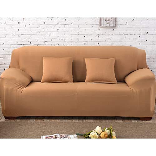 Fundas Lisas de patrón sólido Funda de sofá Fundas de sofá elásticas para Sala de Estar Funda de sofá Toalla de sofá Silla Sofá Cove A14 4 plazas