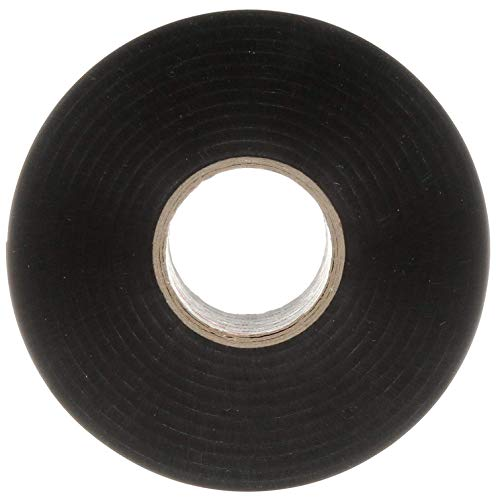 3M Scotchrap Vinyl Corrosion Protection Tape 50, Unprinted, 2 in x 100 ft, Black