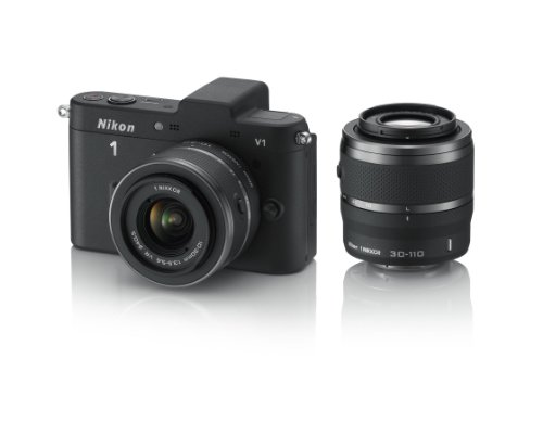 Nikon 1 V1 - Cámara Evil de 10 MP (Pantalla de 3', Objetivo(s) 10-110mm f/3.5, Zoom...