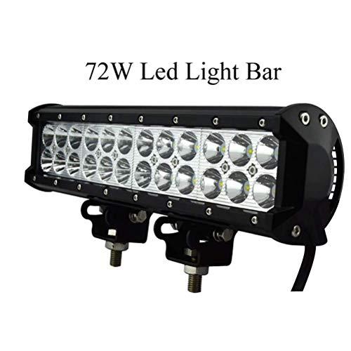 Lumière de Toit de Puissance élevée 72W / Longue lumière de Pare-Chocs Avant/Lampe de Travail/lumière Hors Route/lumière auxiliaire